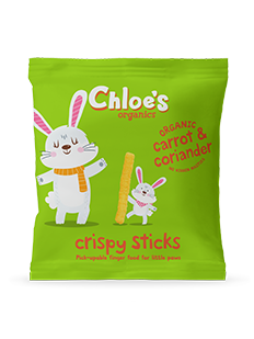Carrot and Corriander Crispy Sticks pack image