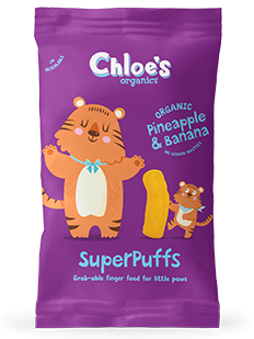 Pineapple & Banana SuperPuffs pack image