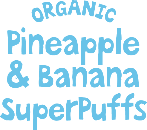 Organic Pineapple & Banana SuperPuffs